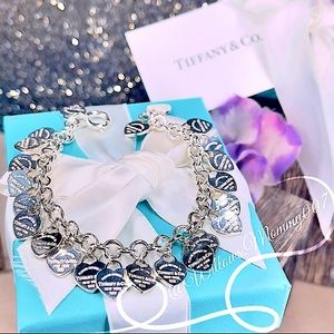 T&Co. Return to Tiffany Multi-Heart Tag Bracelet